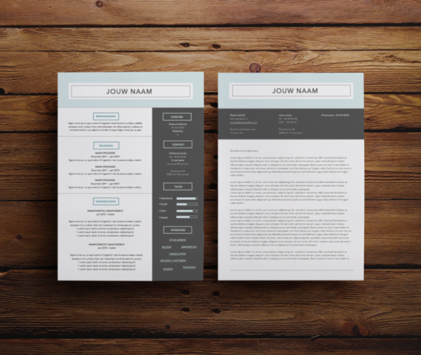 cv maken, cv ontwerp, cv template, opvallen met je cv, cv in word, cv downloaden